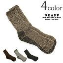 NEAFP(ニューイングランドアルパカファイバープールインク) アルパカ ソックス / 靴下 / メンズ / THE SURVIVAL SOCKS