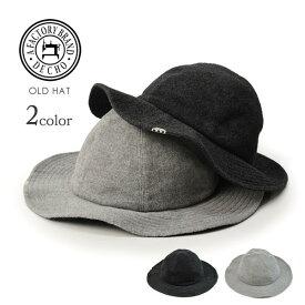 【ラスト1点】【30%OFF】DECHO(デコ) オールドハット / 帽子 / ウール / メンズ / レディース / OLD HAT / 日本製 / 10-1AD16【セール】
