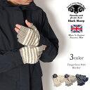 【スーパーSALE限定クーポン対象】BLACK SHEEP(ブラックシープ) フィンガーレスグローブ / ボーダー / 手袋 指なし / メンズ レディース / FINGERLESS MITT BORDER