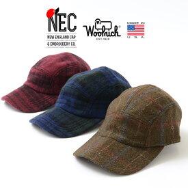 NEW ENGLAND CAP(ニューイングランドキャップ) 5パネル キャップ ウールリッチ / ジェットキャップ / メンズ レディース / アメリカ製 / 5 PANEL WOOLRICH