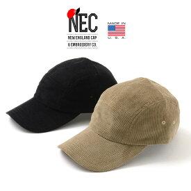 NEW ENGLAND CAP(ニューイングランドキャップ) 5パネル キャップ コーデュロイ / ジェットキャップ / メンズ レディース / アメリカ製 / 5 PANEL CORDUROY
