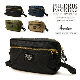 FREDRIK PACKERS(フレドリックパッカーズ) スナッグショルダー バッグ M / ミニショルダーバッグ / メンズ レディース / SNUG SHOULDER M / 日本製