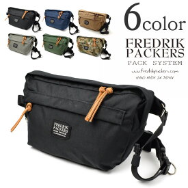FREDRIK PACKERS(フレドリックパッカーズ) ファニーパック / ショルダーバッグ / ミニショルダー / メンズ レディース / 500D FUNY PACK / 日本製