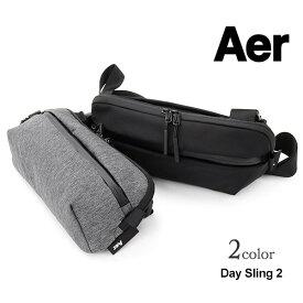 【期間限定20%OFFクーポン対象】AER(エアー) デイスリング 2 / ボディバッグ / ウエストバッグ / ショルダーバッグ / メンズ / TRAVEL COLLECTION / DAY SLING 2 / pl30