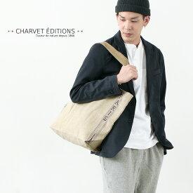 CHARVET EDITIONS(シャルベ・エディション) サック バッグ パリ / トートバッグ エコバック / メンズ レディース / コットン / リネン / フランス製 / SAC BAG PARIS / WSAC/860