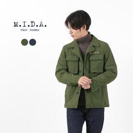 【50%OFF】M.I.D.A.(ミダ) レノン ダウンミリタリージャケット / メンズ / ダウンジャケット / M193203 / LENNON MILITARY DOWN JACKET【セール】