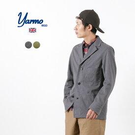 YARMO(ヤーモ) ドライバーズ ジャケット / ブリティッシュ アーミーデニム / コットン / ワーク テーラードジャケット / メンズ / イギリス製 / DRIVERS JACKET / BRITISH ARMY DENIM