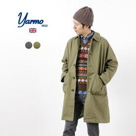 YARMO(ヤーモ) ダスターコート / ブリティッシュ アーミーデニム / コットン / ワークコート オーバーコート / メンズ / イギリス製 / DUSTER COAT / BRITISH ARMY DENIM