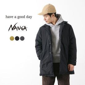 HAVE A GOOD DAY(ハブアグッドデイ) ダウンコート 130 / NANGA ナンガ / 撥水 / ステンカラー / メンズ / 日本製 / DOWN COAT 130