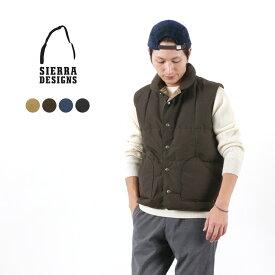 SIERRA DESIGNS(シェラデザイン) ダウンシェラベスト / ダウンベスト / メンズ / DOWN SIERRA VEST
