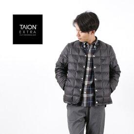 TAION EXTRA(タイオンエクストラ) メンズ Vネック インナーダウンセット / ベスト 半袖 長袖 / MENS V-NECK INNER DOWN SET / EX-01SET