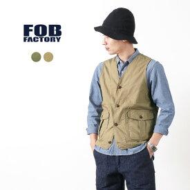 FOB FACTORY(FOBファクトリー) F2397 トラバース ベスト / メンズ / 日本製 / TRAVERSE VEST