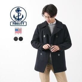 FIDELITY(フィデリティ) 24OZ Pコート ミディアム / メルトンウールコート / ピーコート / メンズ / アメリカ製