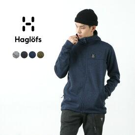 【10%OFFクーポン対象!3月11日1:59まで】HAGLOFS(ホグロフス) スウォークフード / ニット フリース フーデッド ジャケット / メンズ / SWOOK HOOD MEN