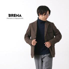 BRENA(ブレナ) ヘリンボーン ツイード テーラード ハンティング ジャケット/ メンズ / 日本製 / HUNT/VINTAGE NEP H.B.TWEED