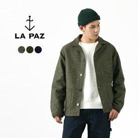 LA PAZ(ラパス) ワーカー ジャケット / アウター / ヘリンボーン / マリン / メンズ / BAPTISTA / WORKER JACKET