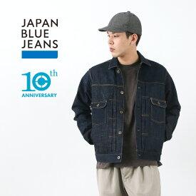 【期間限定!10%OFFクーポン】JAPAN BLUE JEANS(ジャパンブルージーンズ) J10THJ 10Th アニバーサリー リミテッド デニム ジャケット / 10周年記念 / メンズ / Gジャン 2ND / 岡山 日本製 / 10TH ANNIVERSARY LIMITED DENIM JACKET