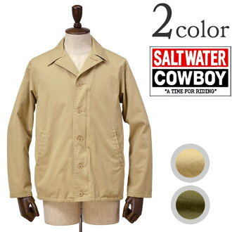 SALTWATER COWBOY (saltwater car boy) M-41 field jacket / laibenjacket / bentyl / Made in Japan