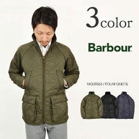 BARBOUR(バブアー) ポーラーキルト SL キルティングジャケット / ポーラキルト / 中綿 / メンズ / MQU0563 / POLAR QUILT SL