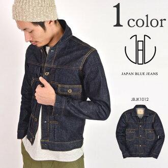 Jbjy1012 JAPAN BLUE JEANS denim jacket 16.5 oz men's / Okayama servich / 2nd G Jean-heavy ones made in Japan