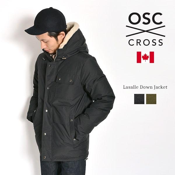 【期間限定ポイント10倍】OSC CROSS(オーエスシークロス) ラサール ダウンジャケット / メンズ / カナダ製 / M09CX LASALLE MENS