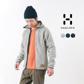 HAGLOFS(ホグロフス)パイルフード メンズ / ボアフリースジャケット / アウトドア / PILE HOOD MEN