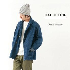 CAL O LINE(キャルオーライン) デニム オーバーコート / カバーオール / メンズ / 日本製 / DENIM OVERCOAT / liou