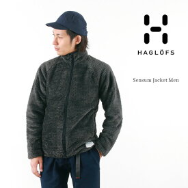 HAGLOFS(ホグロフス) POLARTEC ハイロフト フリースジャケット / アウトドア / メンズ / SENSUM JACKET MEN