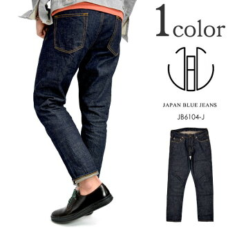 JAPAN BLUE JEANS (Japan blue jeans) servich Uncle cut slim tapered jeans / denimpanzmens / JB6104-J / Made in Japan