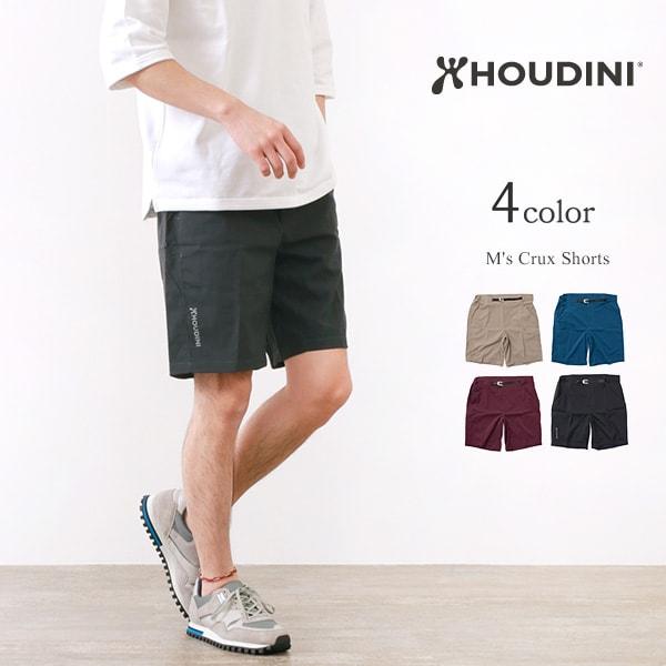 【2点以上で10%OFFクーポン】HOUDINI(フディーニ/フーディニ) クラックスショーツ / ショートパンツ / ストレッチ / アウトドア メンズ ドライ / M's Crux Shorts