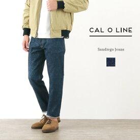 【2点以上で10%OFFクーポン】CAL O LINE(キャルオーライン) サンディエゴ ジーンズ / デニム / スリム / メンズ / 日本製 / SANDIEGO JEANS