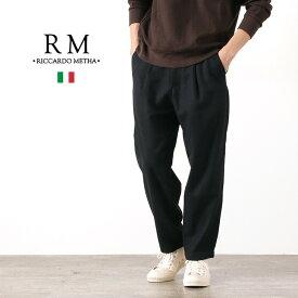 RICCARDO METHA(リカルドメッサ) ワンタック キャロット / メンズ / テーパード / イタリア製 / 1TUCK CARROTT