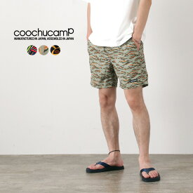 COOCHUCAMP(クーチューキャンプ) ハッピーボードショーツ / ハーフパンツ / 薄手 軽量 / メンズ / 水陸両用ショーツ / Happy Board Shorts