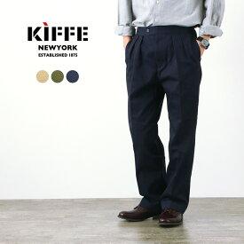 KIFFE(キッフェ) ベルトレス パンツ / メンズ / チノパン / ミリタリーパンツ / ワイドパンツ / コットン / BELTLESS PANTS / KF211TT14030