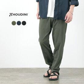 HOUDINI(フディーニ/フーディニ) メンズ ワディ パンツ / イージーパンツ / パッカブル / ストレッチ / 透湿 速乾 ドライ / アウトドア / ガゼット / 薄手 / 260724 / M'S WADI PANTS