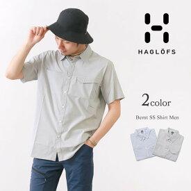 【20%OFF】HAGLOFS(ホグロフス) ベルント ショートスリーブ シャツ メンズ / 半袖 / 薄手 軽量 消臭 / アウトドア / BERNT SS SHIRT MEN【セール】