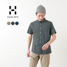 HAGLOFS(ホグロフス) ブラン ショートスリーブ シャツ メンズ / 半袖 / 薄手 軽量 / アウトドア / BRUNN SS SHIRT MEN