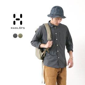 HAGLOFS(ホグロフス) ブルーン ロングスリーブ シャツ / メンズ / 長袖 / 薄手 軽量 / アウトドア / BRUNN LS SHIRT MEN