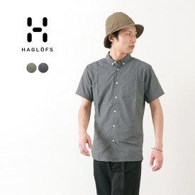 HAGLOFS(ホグロフス) べジャン ショートスリーブ シャツ メンズ / 半袖 / 薄手 軽量 / アウトドア / VEJAN SS SHIRT MEN