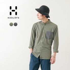 HAGLOFS(ホグロフス) べジャン ロングスリーブ シャツ メンズ / 長袖 / 薄手 軽量 / アウトドア / VEJAN LS SHIRT MEN