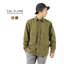 【期間限定ポイント10倍】CAL O LINE(キャルオーライン) ワーカーズ ペインターシャツ / メンズ / コットン ネル / 日本製 / PAINTER SHIRT