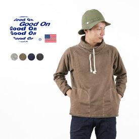 GOOD ON(グッドオン) ロールネック スウェット / メンズ / 裏起毛 / フリース / アメリカ製生地 / 日本製 / ROLL NECK SWEAT