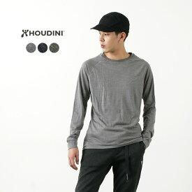 HOUDINI(フディーニ/フーディニ) メンズ アクティビスト クルー / ベースレイヤー / 長袖 無地 / ドライ / アウトドア スポーツ / MS ACTIVIST CREW