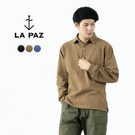 【ポイント10倍!1/18(月)01:59まで】LA PAZ(ラパス) ポロシャツ / 無地 / 長袖 / ポルトガル製 / メンズ / MESQUITA / POLO SHIRT