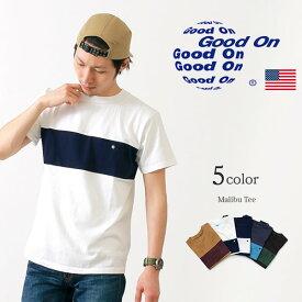 GOOD ON(グッドオン) マリブ Tシャツ / メンズ / 半袖 無地 / ピグメントダイ / アメリカ製 / REGO1702