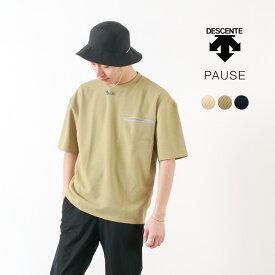 DESCENTE PAUSE(デサントポーズ) サーマル ハーフスリーブ Tシャツ / 半袖 無地 / メンズ / THERMAL H/S T-SHIRT / DLMNJA52