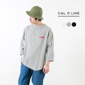 【20%OFF】CAL O LINE(キャルオーライン) ライトウエイト ヒッピープルオーバー / Tシャツ / 7分袖 / メンズ / 日本製 / LIGHTWEIGHT HIPPIE PULL OVER【セール】