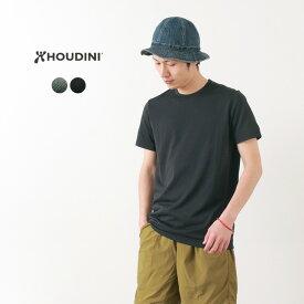 HOUDINI(フディーニ/フーディニ) メンズ ビッグアップ Tシャツ / 半袖 無地 / ドライ / アウトドア スポーツ / M's Big Up Tee / クールビズ