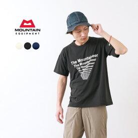 【限定クーポン対象】MOUNTAIN EQUIPMENT(マウンテンイクィップメント) グラフィック Tシャツ THE MOUNTAINEER / 半袖 プリント / 吸汗速乾 / メンズ / GRAPHIC TEE