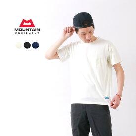 【限定クーポン対象】MOUNTAIN EQUIPMENT(マウンテンイクィップメント) クイックドライ ポケットTシャツ / 半袖 無地 / 吸汗速乾 / メンズ / QD POCKET TEE